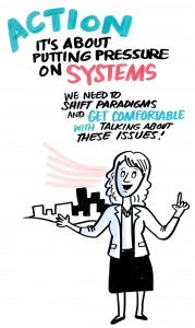 It's about putting pressure on systems