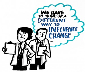 We have to think of a different way to influence change